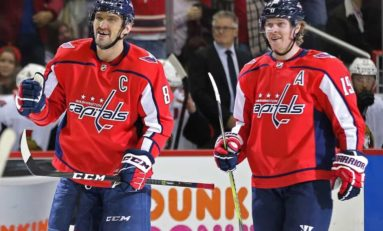 Ovechkin & Backstrom Reunited, Vrana Rising