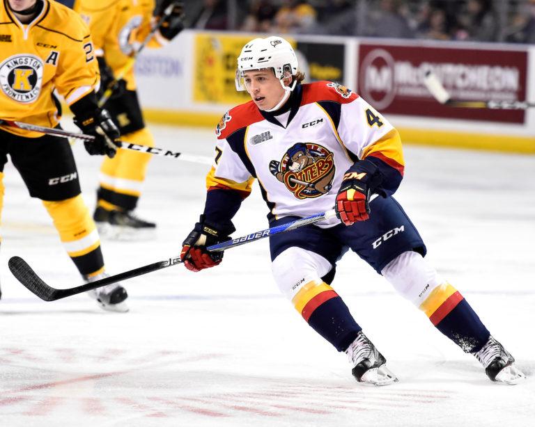 Owen Headrick, Erie Otters, OHL