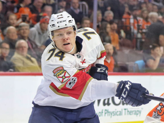 Owen Tippett Florida Panthers
