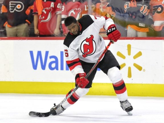 P.K. Subban New Jersey Devils