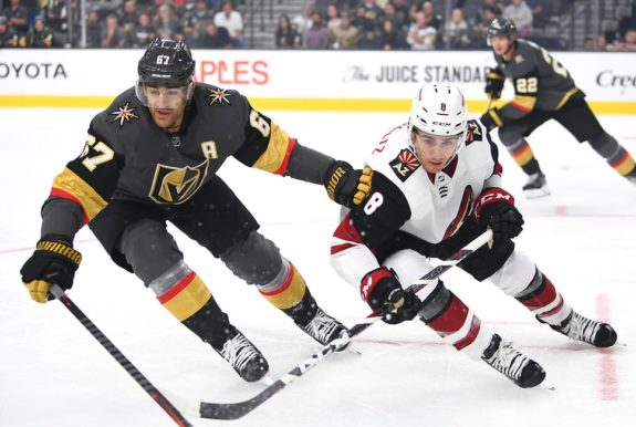 Vegas Golden Knights Max Pacioretty Arizona Coyotes Nick Schmaltz