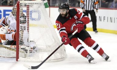 Palmieri, Wood Help Devils Beat Rangers 5-2 for 1st Win