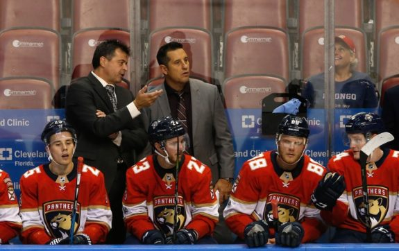Florida Panthers Bob Boughner Jack Capuano