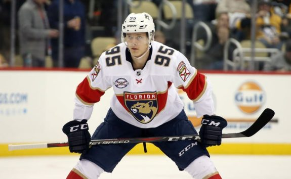 Florida Panthers Henrik Borgstrom