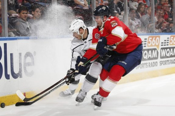 Florida Panthers Mark Pysyk Los Angeles Kings Dustin Brown