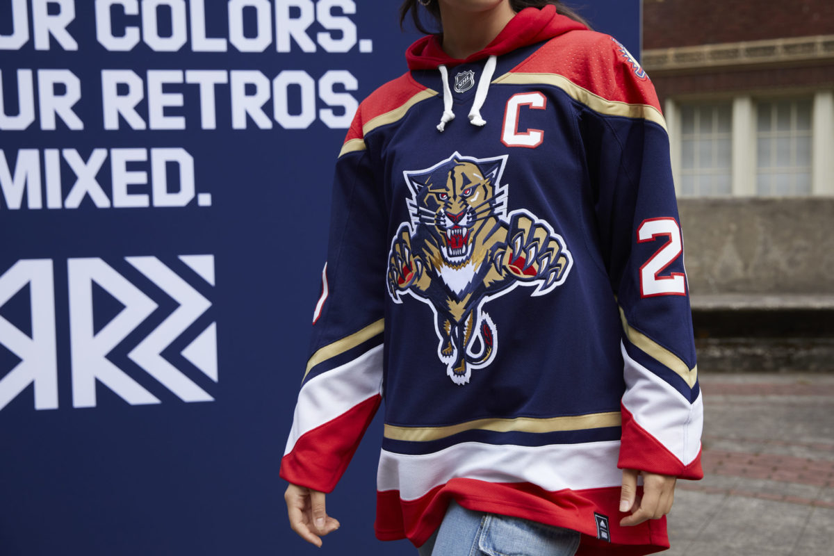 Florida Panthers Reverse Retro jersey