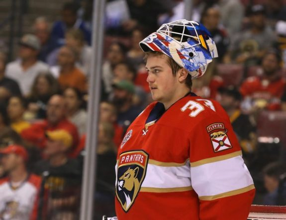 Florida Panthers Sam Montembeault