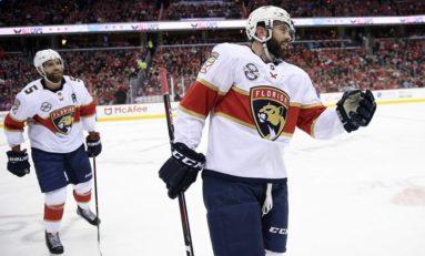 Panthers Outlast Capitals - Hoffman Scores OT Winner