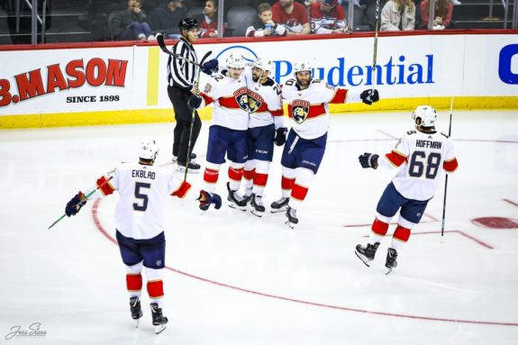 Florida Panthers celebrate