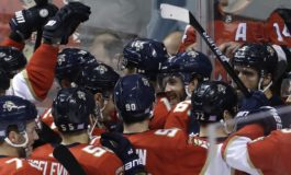 Panthers Rally Past Devils With Hoffman's OT Tally