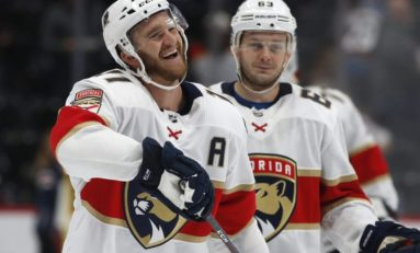 Huberdeau Has 4-Point Game, Panthers Beat Canadiens 6-5