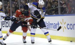 Blues Rally Late to Beat Panthers