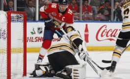 Panthers Blank Bruins on Luongo Shutout