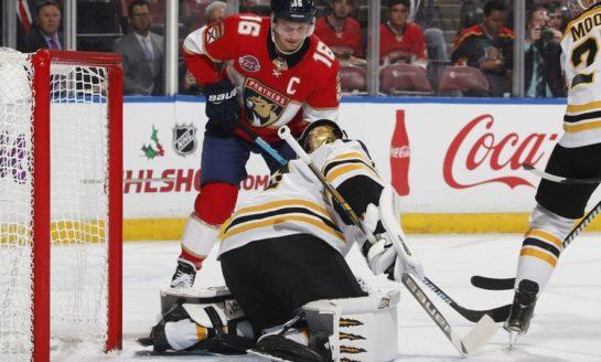 Panthers Blank Bruins on Luongo Shutout