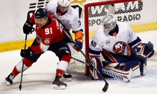 Panthers Beat Islanders 4-2 - Barkov With the Winner