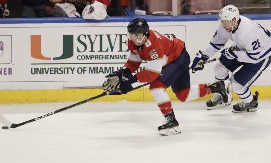 Panthers Top Maple Leafs - Snap 7-Game Losing Streak