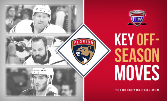 Key Off-Season Moves for the Florida Panthers Alex Wennberg, Radko Gudas, and Patric Hornqvist