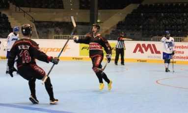 Flyers Prospect Shines on International Ball Hockey Stage