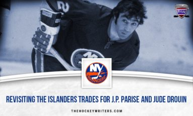 Revisiting the Islanders' J.P. Parise and Jude Drouin Trades