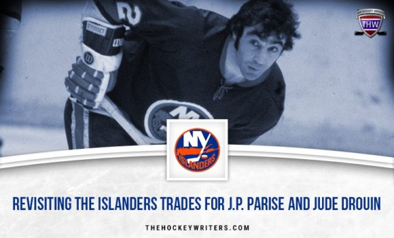 Revisiting the Islanders Trades for J.P. Parise and Jude Drouin