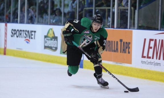 Parker Kelly, Prince Albert Raiders