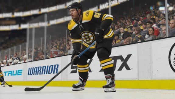 David Pastrnak in NHL 20, EA Sports
