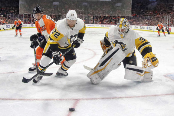 Patric Hornqvist Matt Murray Penguins