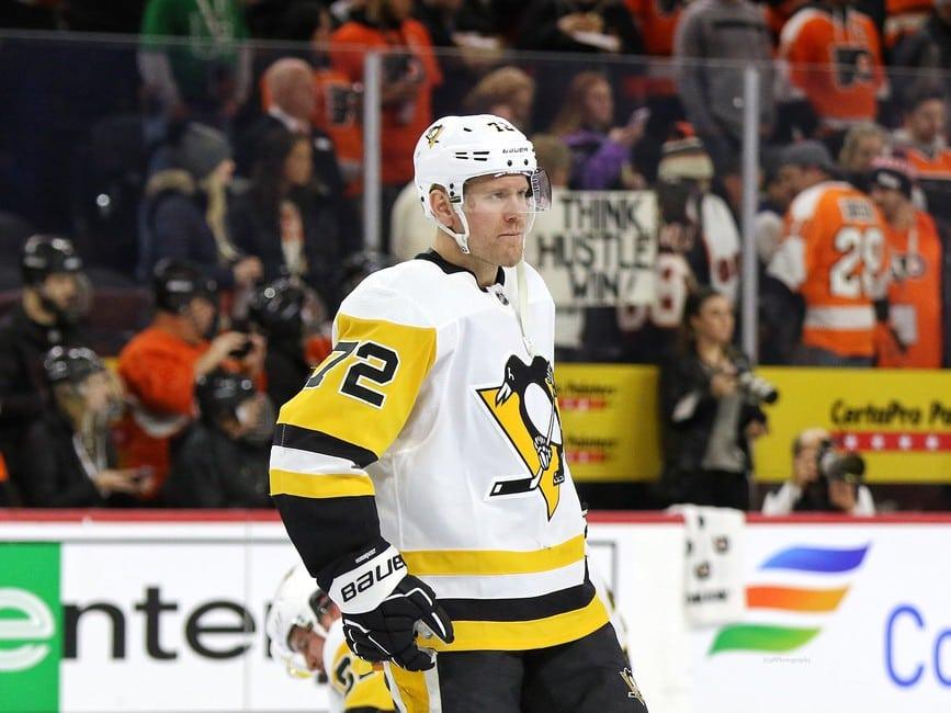 Patric Hornqvist Pittsburgh Penguins