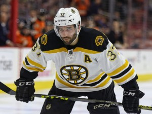 Bergeron is now one of the League's best two-way centers under Julien's leadership. (Amy Irvin / The Hockey Writers)