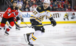Goals by Bergeron, DeBrusk Send Bruins Past Coyotes Again