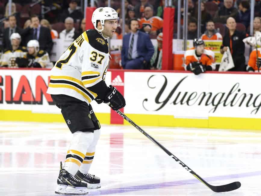 Patrice Bergeron Bruins