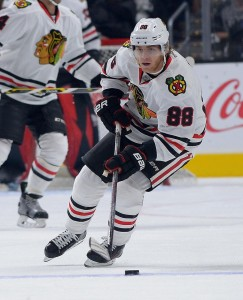 Patrick Kane and the rest of the Blackhawks will make their first trip to American Airlines Center this season when they square off against the Stars Tuesday.(Jayne Kamin-Oncea-USA TODAY Sports)