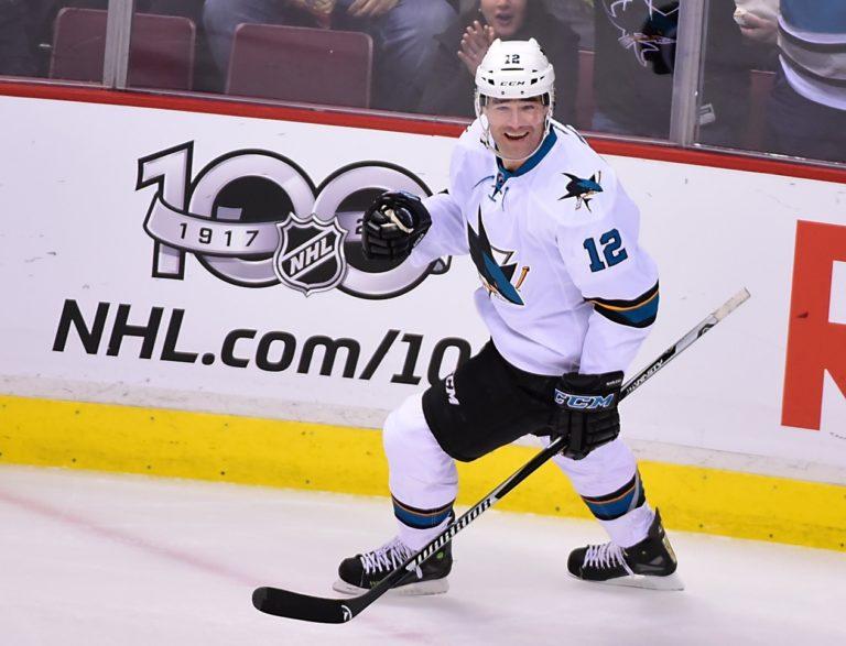 Patrick Marleau, San Jose Sharks, NHL