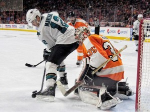 The Sharks will be a tough-out in the postseason. (Amy Irvin / The Hockey Writers)