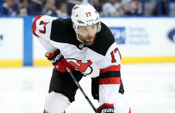 Patrick Maroon, New Jersey Devils