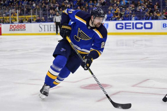 St. Louis Blues center Patrik Berglund