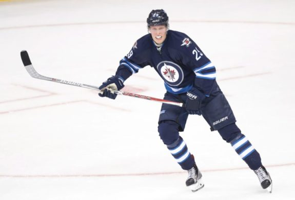 (Bruce Fedyck-USA TODAY Sports) Patrik Laine is slumping right now, but he's certainly lived up to the hype early on in his rookie season with the Winnipeg Jets.
