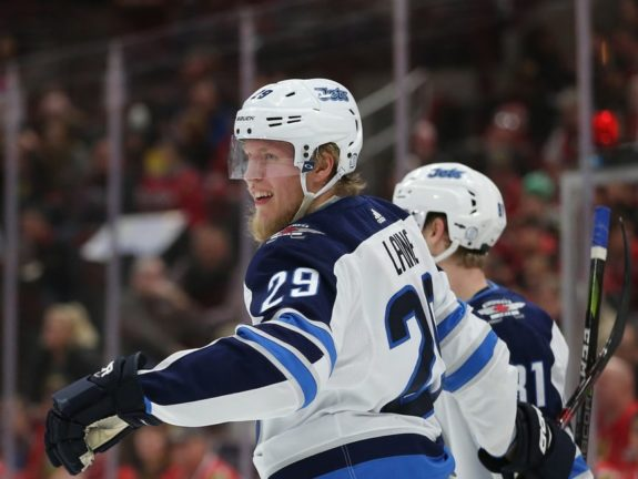 Winnipeg Jets right wing Patrik Laine