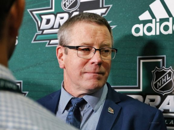 Minnesota Wild general manager Paul Fenton