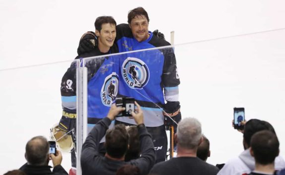 Paul Kariya Teemu Selanne 2017 Hall of Fame