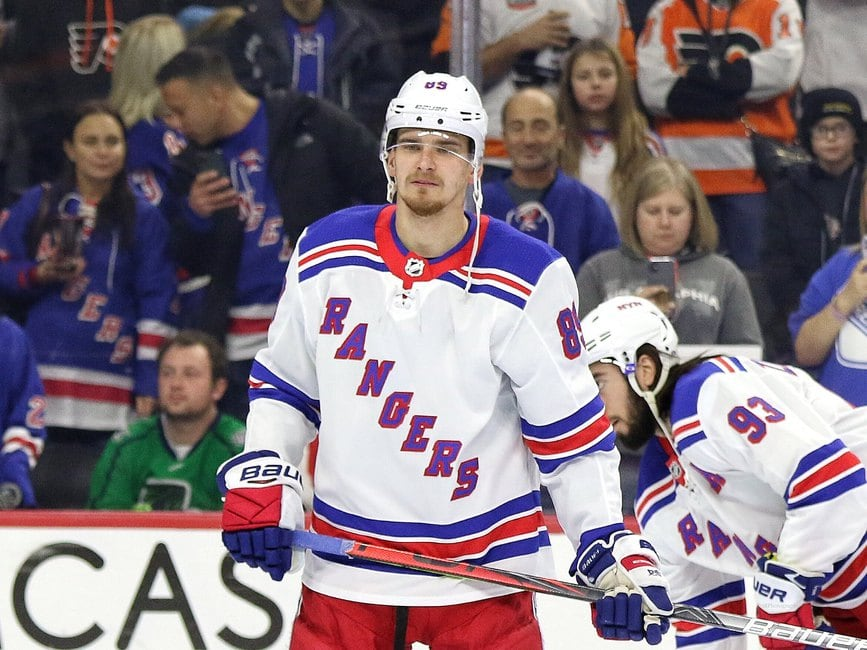 New York Rangers Have Players to Move at the Trade Deadline