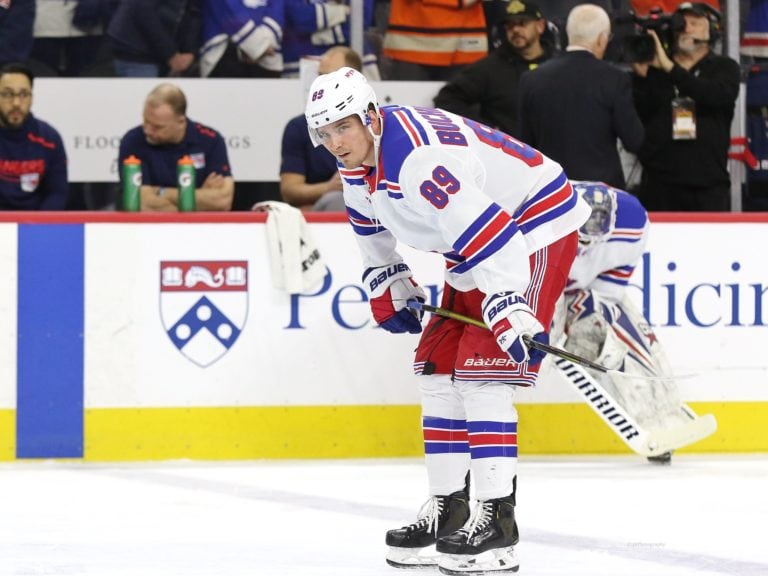 Pavel Buchnevich New York Rangers