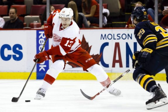 Former Detroit Red Wings center Pavel Datsyuk.