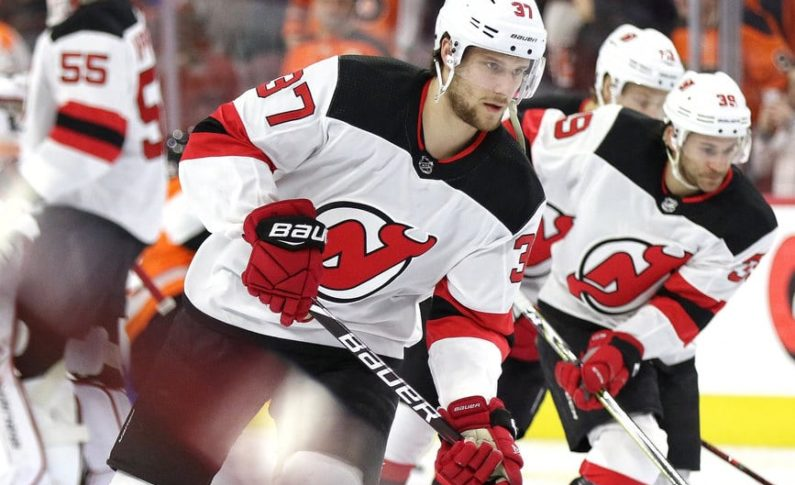 new style 17e90 718a1 New Jersey Devils Need Pavel Zacha to Step It Up Next Season
