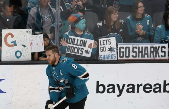 San Jose Sharks Joe Pavelski