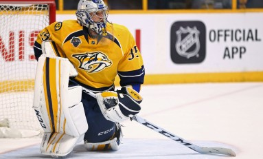 Pekka Rinne Will Start for Team Finland