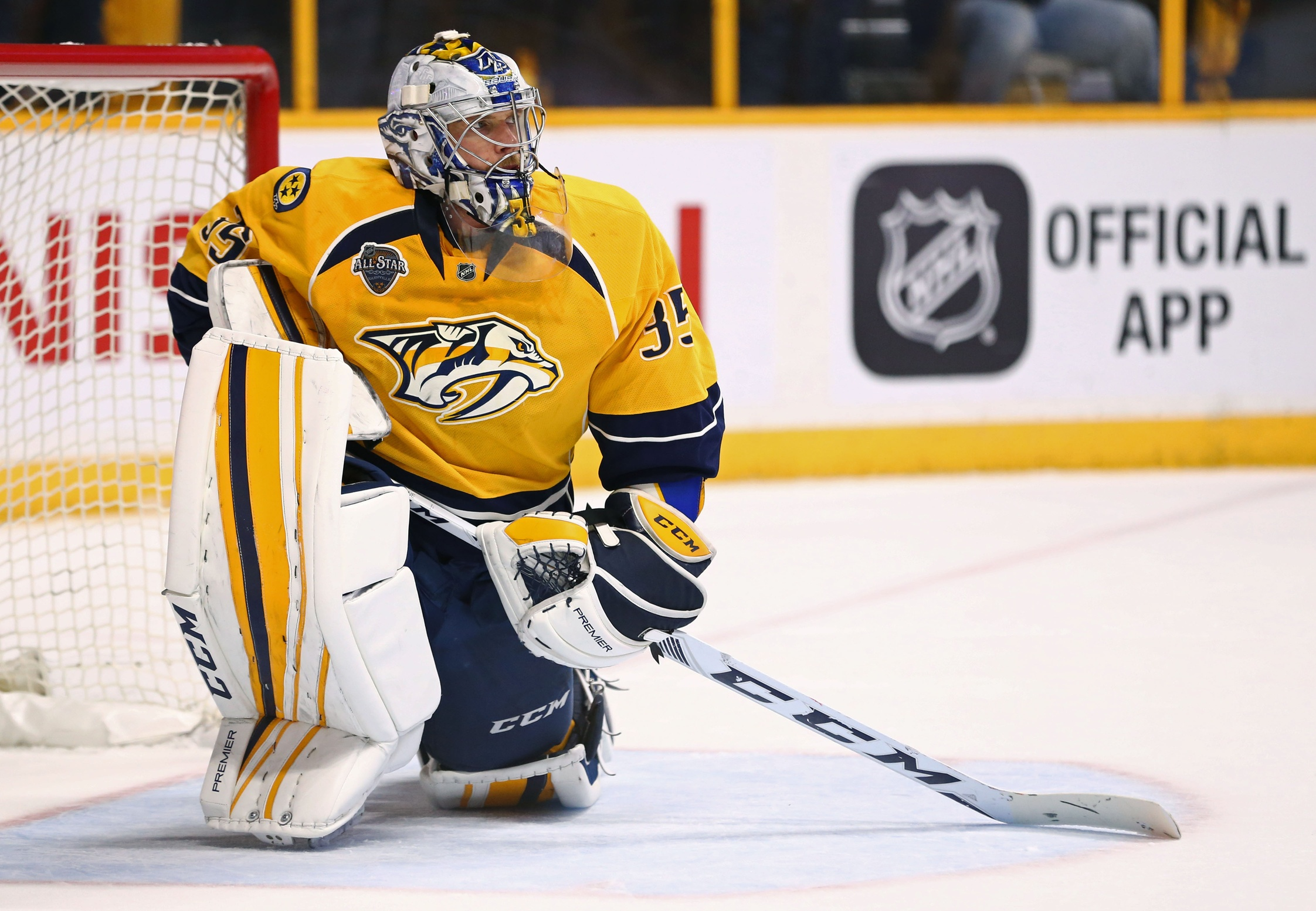 Pekka Rinne Will Start for Team Finland at World Cup a499c199e