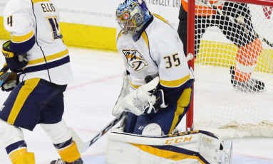 Predators Goalie Mine Keeps Producing Gems