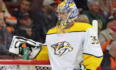 THW's Goalie News: Rinne's Goal, A Pair of Shutouts & More