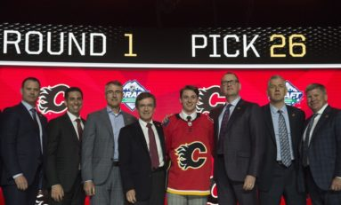 Calgary Flames Have Never Been Good at Building Through the Draft